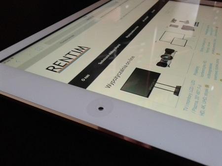 Wynajem tablet Ipad Air (1)