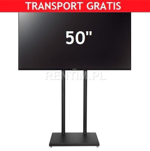 Ekran 50'' LCD LED na stojaku