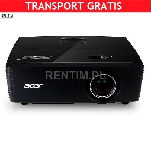 Wynajem projektora eventowego 6000 ANSI (stała optyka)