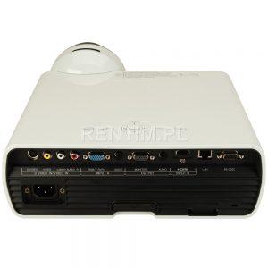 Wynajem projektora HD krótkiego rzutu (krótkoogniskowy / short-throw) 2800 ANSI