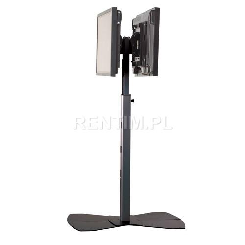 Wynajem uniwersalnego stojaka PREMIUM do plazm, telewizorów LCD / LED – wersja na dwa telewizory
