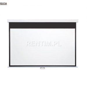 Ekran projekcyny podwieszany 180cm do wypożyczenia