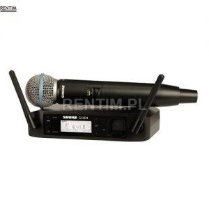 Mikrofon bezprzewodowy cyfrowy SHURE GLX-D B58