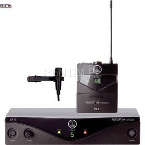 Mikrofon bezprzewodowy krawatowy (lavalier, w klapę)