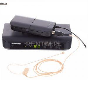 Mikrofon bezprzewodowy nagłowny SHURE - zestaw