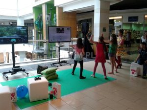 Stanowisko Xbox 360 Kinect z TV 42'' (2)