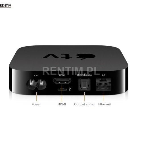 Wynajem Apple TV – bezprzewodowa prezentacja za pomocą iPoda, iPhone