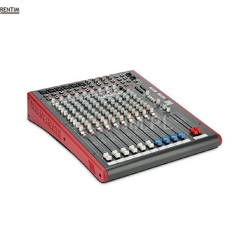 Wynajem miksera audio – wersja podstawowa, 4-6 wejść mikrofonowych, wejścia stereo
