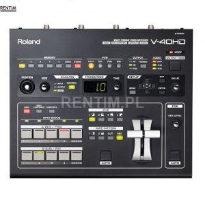 Wynajem mikser wideo Roland V-40HD - front