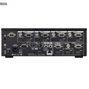 Wynajem mikser wideo Roland V-40HD - tył