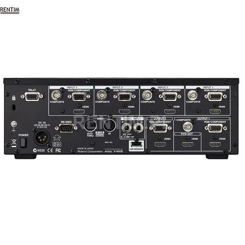 Wynajem miksera video (mixera wizji) Roland V-40HD
