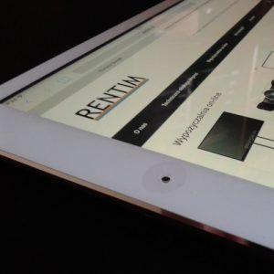 Wynajem tablet Ipad Air - real foto bok