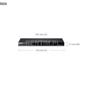 Odtwarzacz Blu-Ray, DVD, USB - wymiary