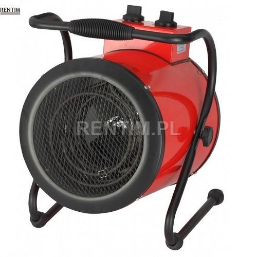Wynajem nagrzewnicy elektrycznej o mocy 3.6 kW (do 25 m2)