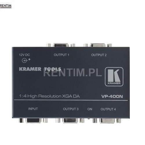 Wynajem splitter (rozdzielacz) VGA 1 do 4 KramerWynajem splitter (rozdzielacz) VGA 1 do 4 Kramer