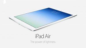 Nowość w ofercie: wynajem tabletów iPad Air i iPad Air 2