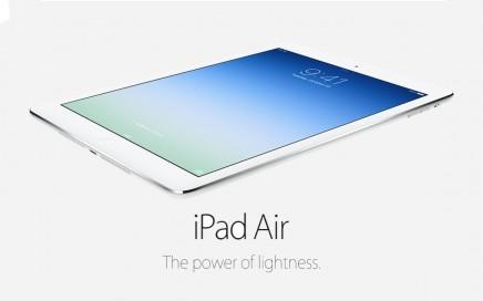 Wynajem tabletów iPad Air i iPad Air 2