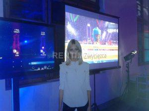Stanowisko Xbox 360 Kinect z projektorem (5)