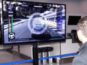 Wynajem kompletnego stanowiska Xbox 360 Kinect z TV LED 60″ i stelażem